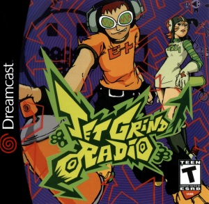 Jet Grind Radio on Sega Dreamcast