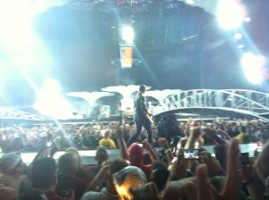 Edge during Get On Your Boots U2 360 Minneapolis